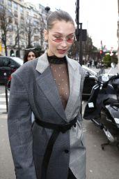Bella Hadid Street Fashion - Paris, France