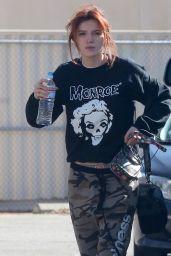 Bella Thorne Film a Music Video in LA