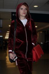 Bella Thorne - LAX Airport in Los Angeles 01/20/2018
