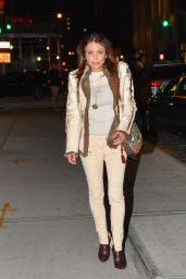 Bethanny Frankel Night Out Style - NYC 01/27/2018