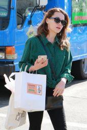 Bethany Joy Lenz - Shopping a the Farmers Market in Studio City