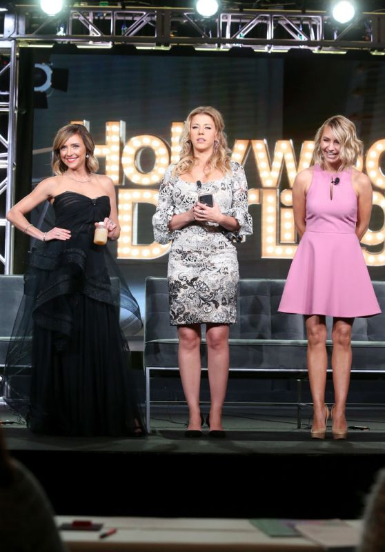 Beverley Mitchell, Christine Lakin, and Jodie Sweetin - POPTV 2018 Winter Television Critics Association Press Tour