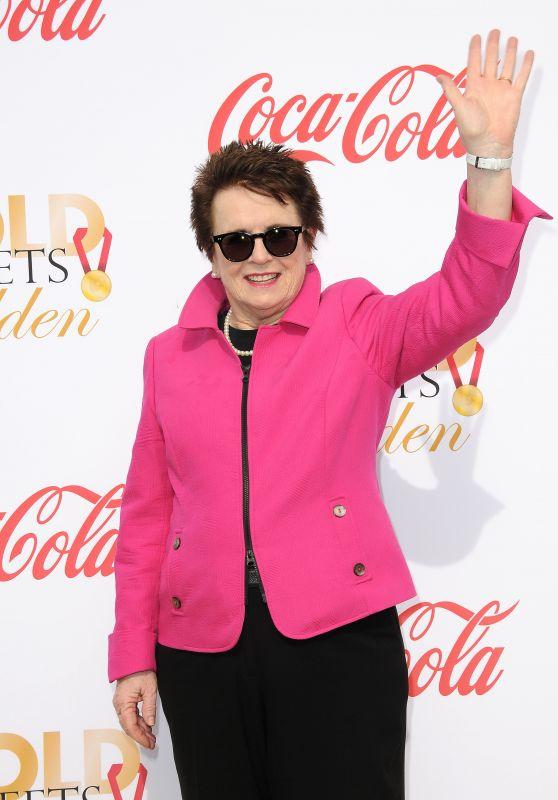 Billie Jean King – Gold Meets Golden Awards in Los Angeles