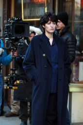 """Blake Lively - """"The Rhythm Section"""" Filming in New York"""
