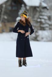 Blanca Blanco in the Snow in a Bikini in Park City