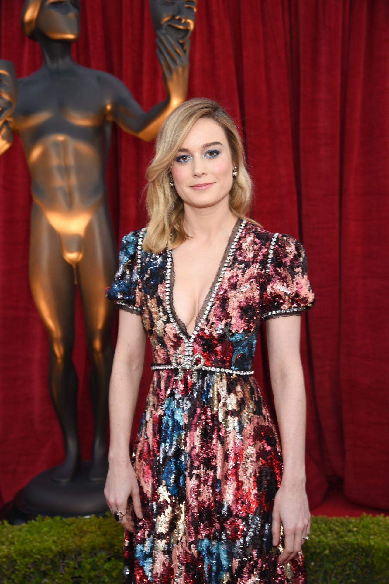 Brie Larson 2018 Sag Awards In La