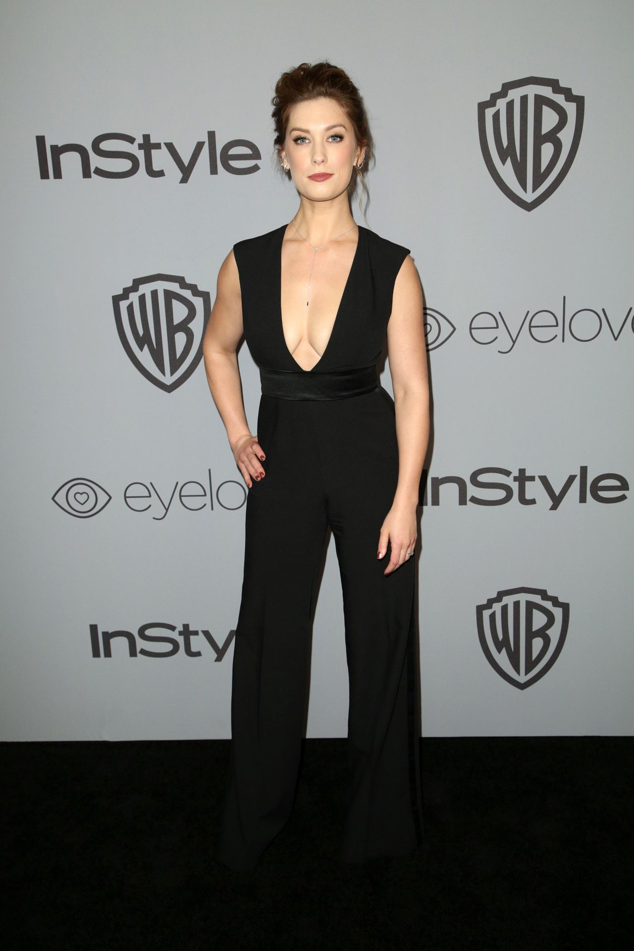 Briga Heelan – InStyle and Warner Bros Golden Globes 2018 After Party