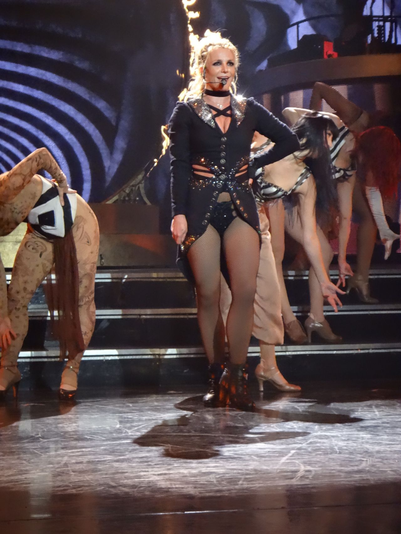 Britney Spears Performs At The AXIS At Planet Hollywood In