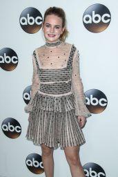 Britt Robertson - Disney ABC Television TCA Winter Press Tour in LA