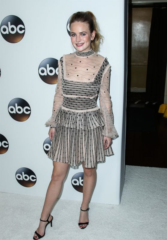 Britt Robertson - Disney ABC Television TCA Winter Press Tour in LA