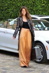 Brooke Burke-Charvet Style - Leaving Barney New York in Beverly Hills