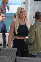 Brooke Hogan at an Event Held at the National Hotel in Miami Beach