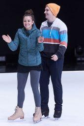 Brooke Vincent - Dancing On Ice Training in Hertfordshire, UK 01/15/2018