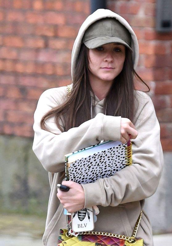 Brooke Vincent - Leaving Key 103 Radio in Manchester
