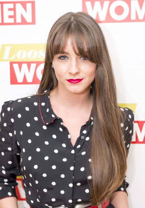 Brooke Vincent - Loose Women TV Show in London