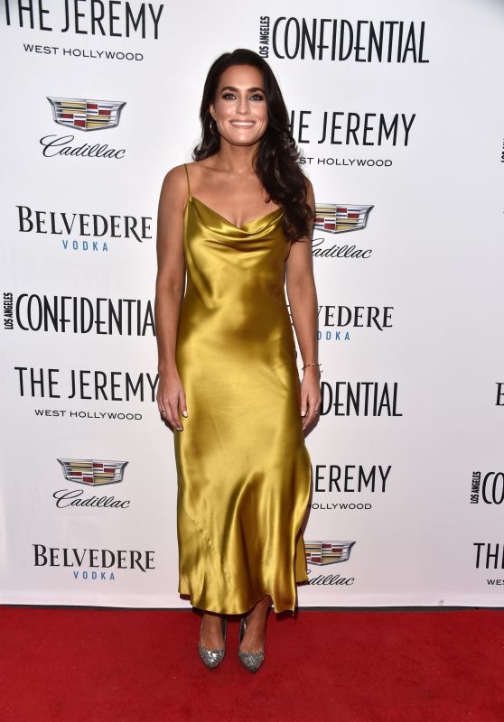 """Caitlin Leahy - Los Angeles Confidential Celebrates """"Awards Issue"""""""