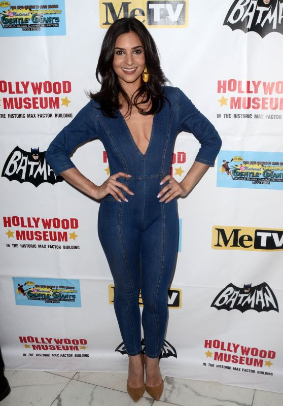 Camila Banus - Batman 66 Retrospective and Batman Exhibit Opening Night in LA