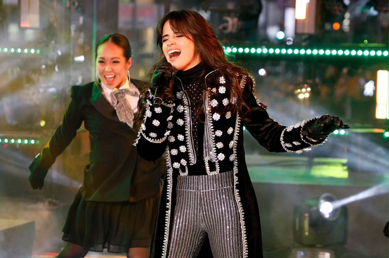 Camila Cabello Performs At The Dick Clarks New Years