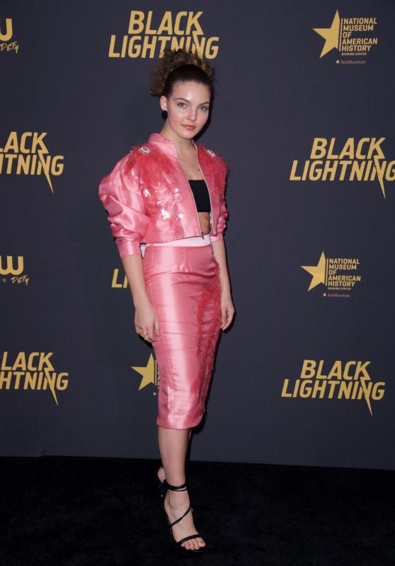 "Camren Bicondova – ""Black Lightning"" Premiere in Washington D.C."