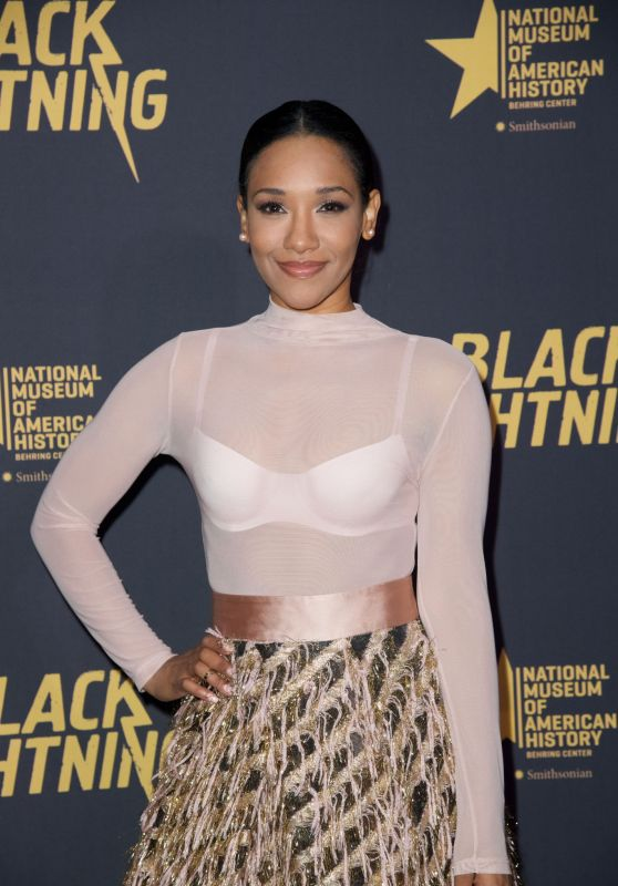 "Candice Patton - ""Black Lightning"" Premiere in Washington D.C."