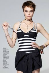 Cara Delevingne - Madame Figaro Magazine 01/26/2018 Issue
