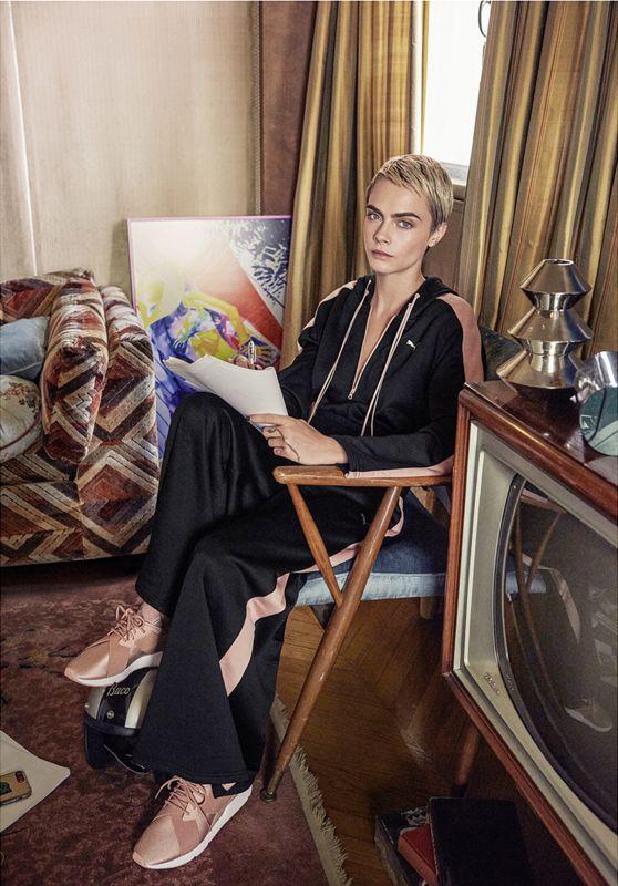 Cara Delevingne - Puma Ad Campaign 2018