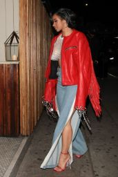 Cardi B - Arrives at The Nice Guy Restaurant in West Hollywood