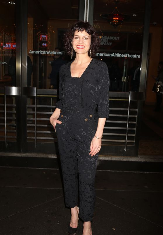 Carla Gugino - John Lithgow Stories By Heart Opening Night on Broadway