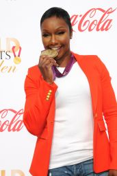 Carmelita Jeter – Gold Meets Golden Awards in Los Angeles