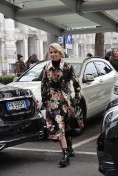 Caroline Daur Out in Milan, Italy 01/15/2018