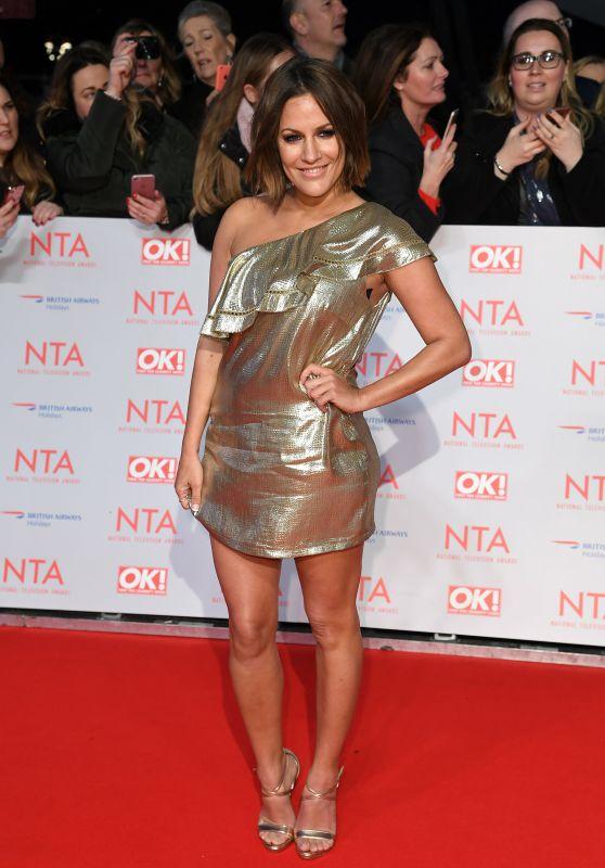 Caroline Flack – 2018 National Television Awards in London