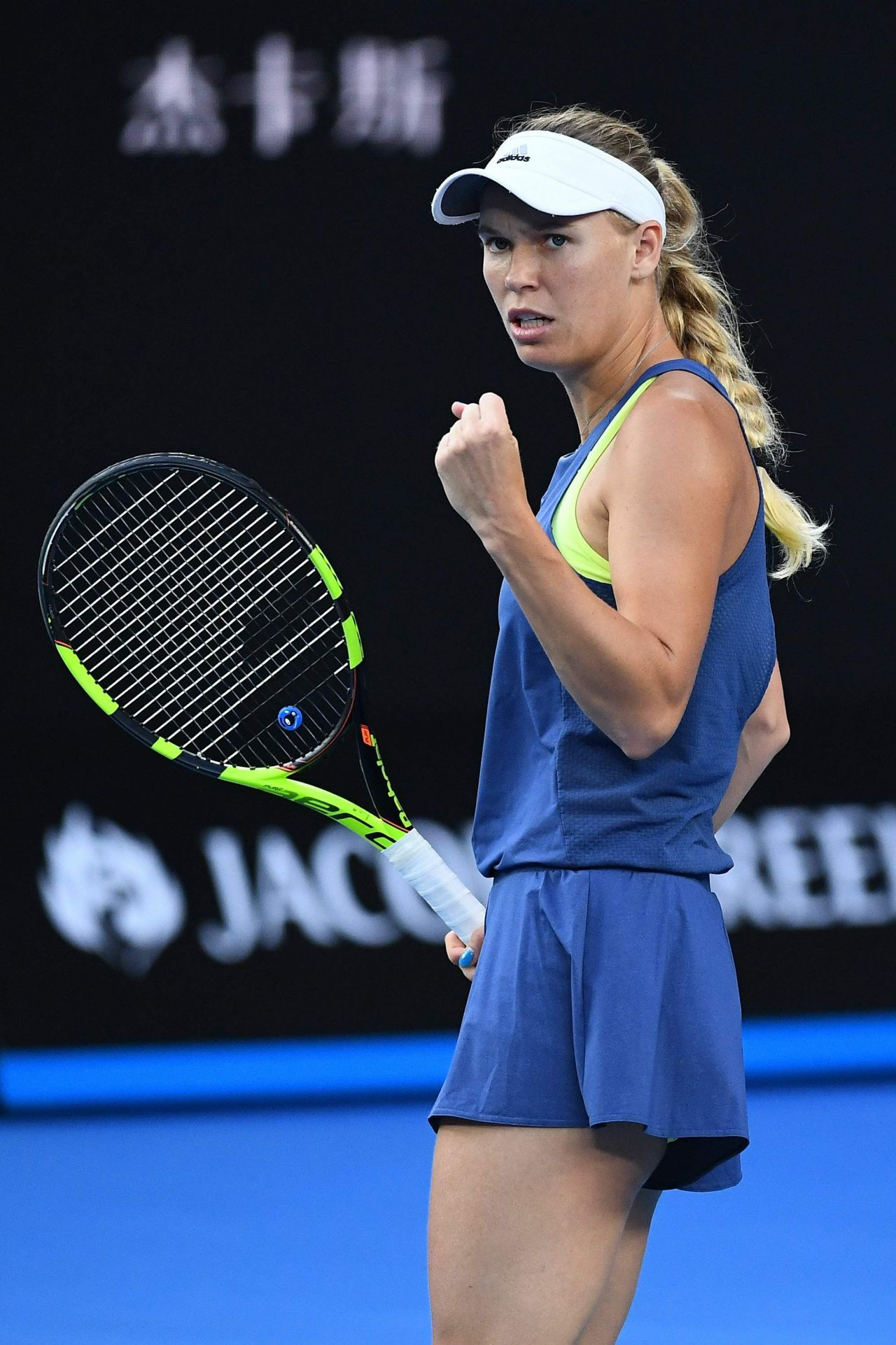 Caroline Wozniacki - 2018 Australian Tennis Tournament ...