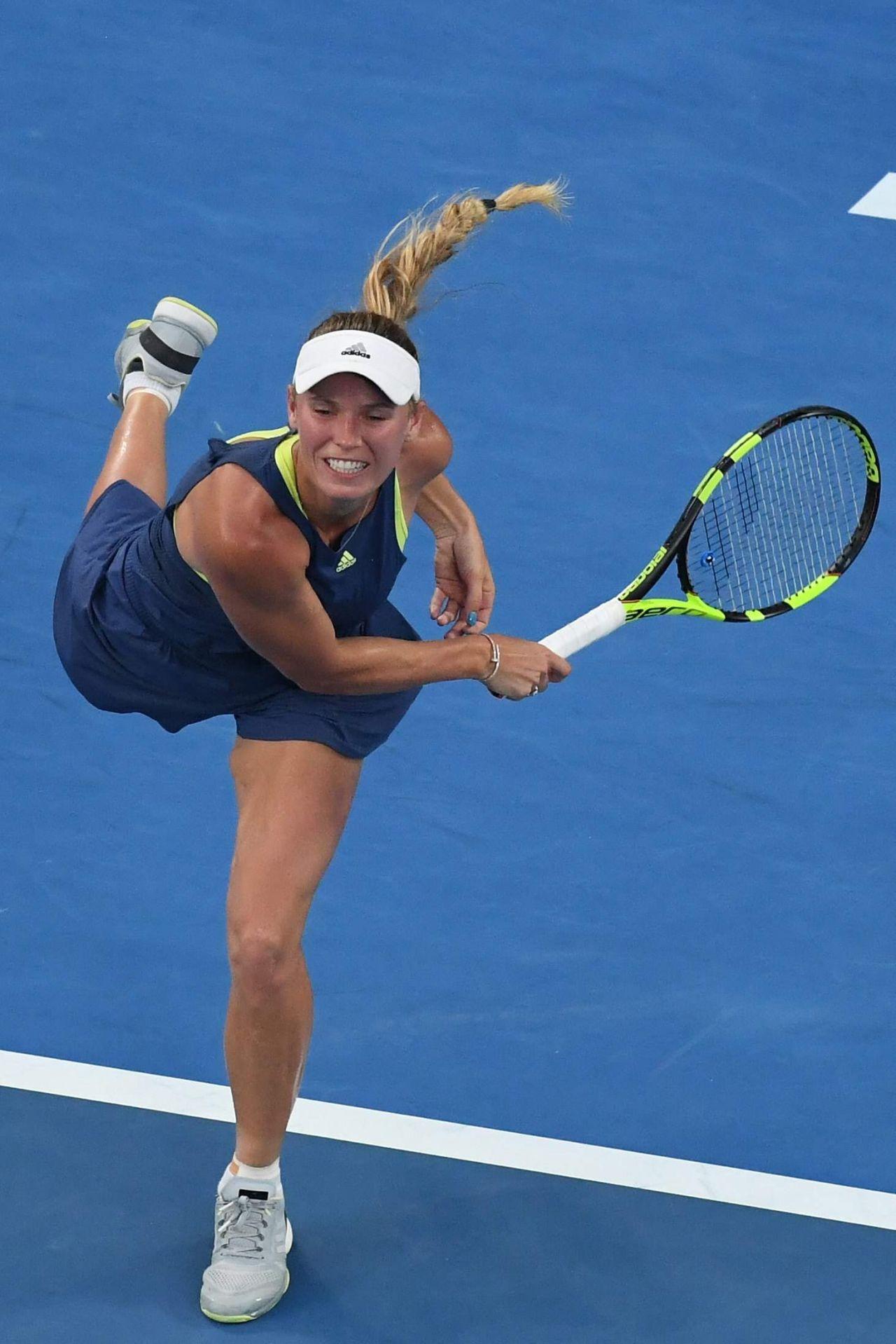 Caroline Wozniacki - 2018 Australian Tennis Tournament ...