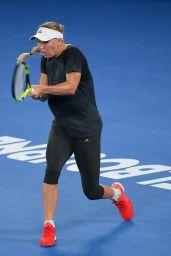 Caroline Wozniacki - Practises on Rod Laver Arena for the Australian Open