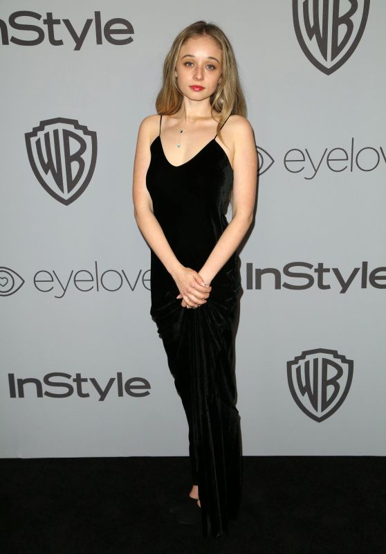 Carson Meyer – InStyle and Warner Bros Golden Globes 2018 After Party