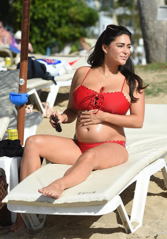 Casey Batchelor in Bikini in Lanzarote