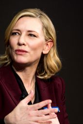 Cate Blanchett - 2018  World Economic Forum in Davos