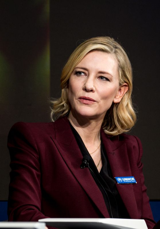 Cate Blanchett - 2018  World Economic Forum in Davos