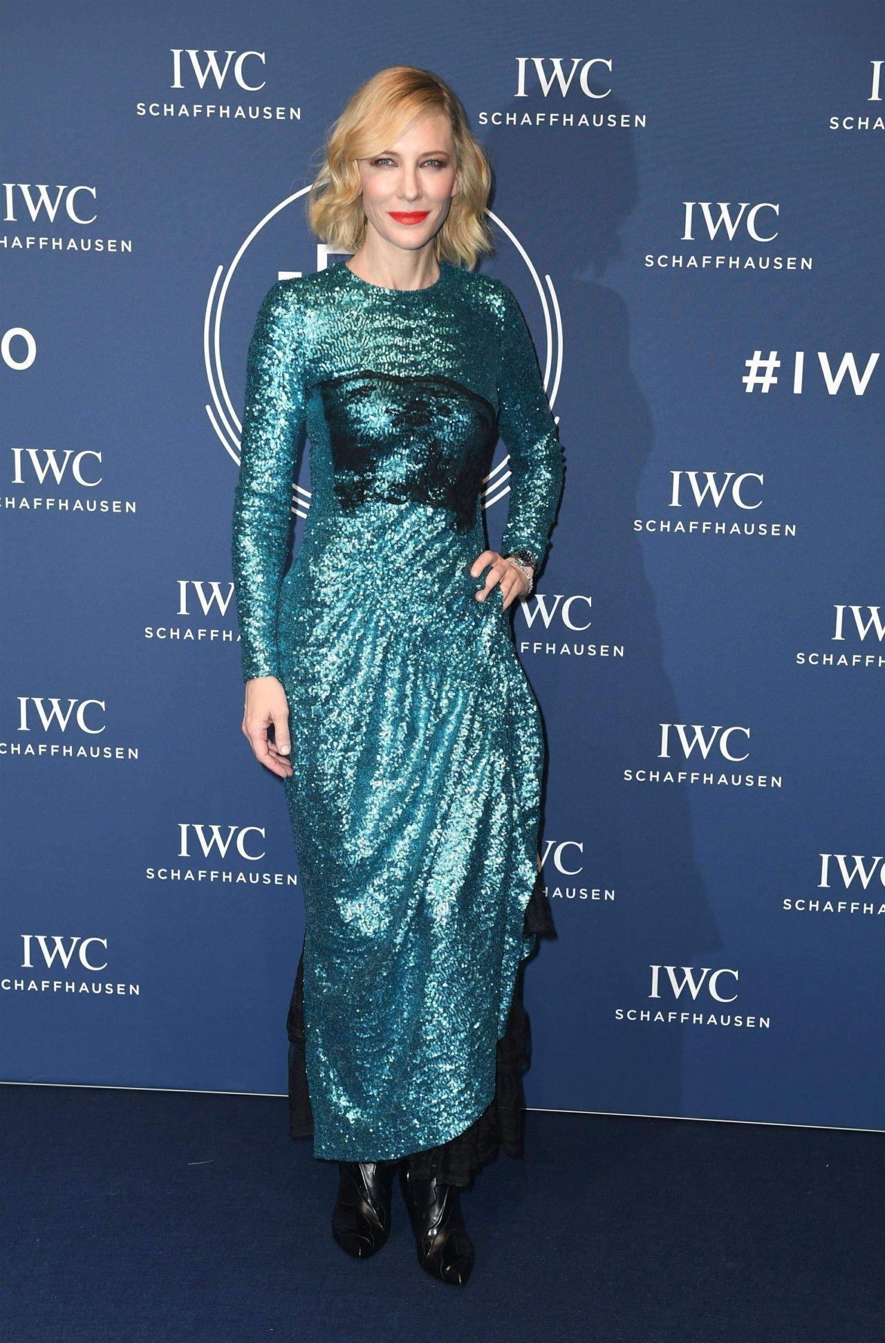 Cate Blanchett - IWC Schaffhausen Gala at SIHH 2018 in Geneva