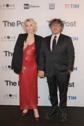 "Caterina Shulha – ""The Post"" Red Carpet in Milan"