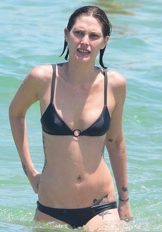 Catherine McNeill at Bondi Beach in Sydney