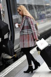 Catherine Tyldesley - Catching the Train to London in Manchester