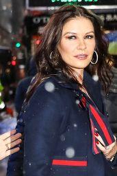 Catherine Zeta-Jones Arriving Home in NYC