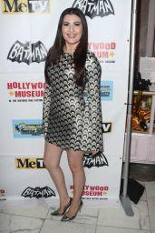 Celeste Thorson - Batman 66 Retrospective and Batman Exhibit Opening Night in LA