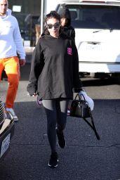 "Chantel Jeffries in a ""Girls Girls Girls"" Hoodie in Los Angeles"