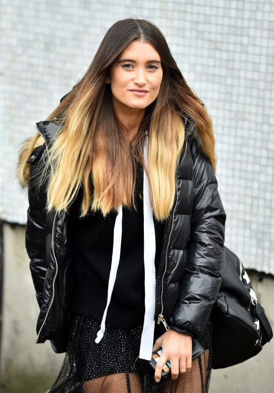 Charley Webb at ITV Studios in London