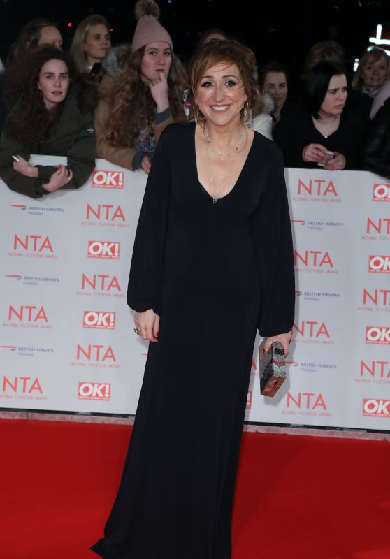 Charlotte Bellamy – 2018 National Television Awards in London