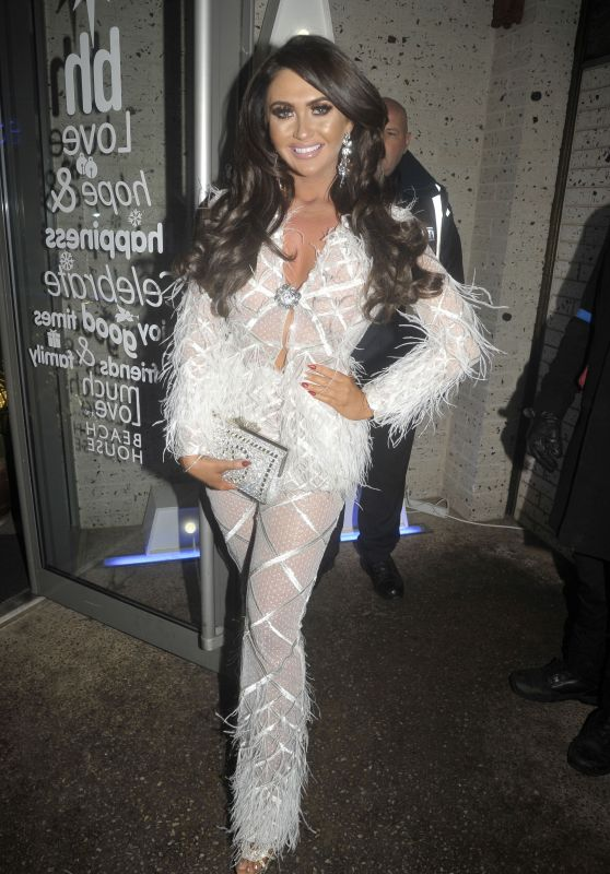 Charlotte Dawson Night Out in Blackpool