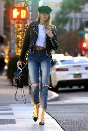 Charlotte McKinney Showed Off Her Stylish Figure - Beverly Hills 01/17/2018