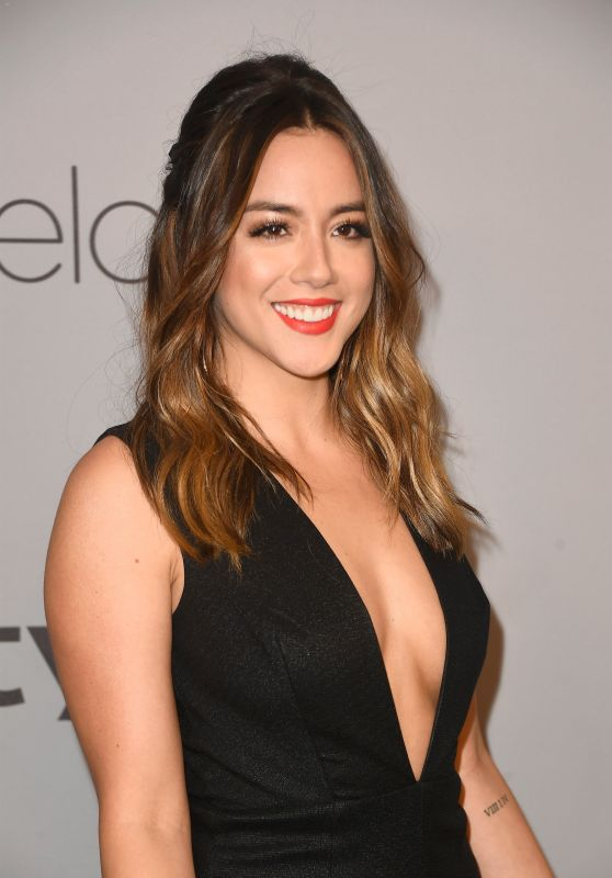 Chloe Bennet – InStyle and Warner Bros Golden Globes 2018 After Party